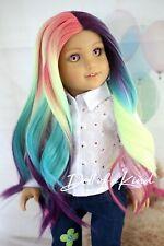 American Girl doll Northern Light Premium wig Fits most 18'dolls Blythe Og