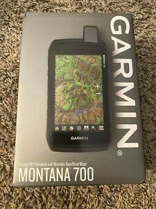 NEW Garmin Montana 700, Rugged GPS Handheld, Routable Mapping for Roads & Trails