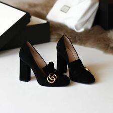 Gucci Marmont Pumps/Scarpe con tacco, Black/Nere, 100%Original, Made in Italy