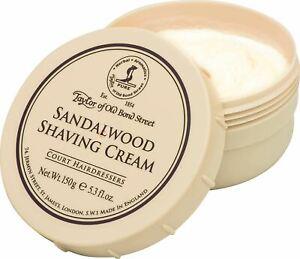 Taylor of Old Bond Street Sandalwood Shaving Cream - 150 g / 5.3 oz