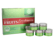 Khadi Natural Fruit Freshness Skin Rejuvenation Mini Facial Kit For Cooling Skin