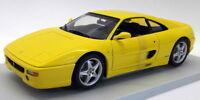 UT Models 1/18 Scale Diecast - 180 074021 Ferrari F355 Coupe 1994 Yellow