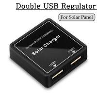 5-20V To 5V 3A Double USB Solar Panel Regulator Controller Power Charger Kit DIY