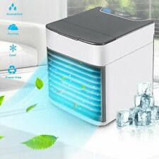 Portable Mini Ac Air Conditioner Personal Water Cooling Fans Bedroom Led Cooler