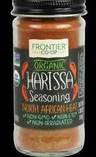 Frontier CO-OP Organic Seasoning Harissa Spicy African Sauce Kosher 1.9 Ounce