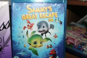 Sammy's Great Escape (Blu-ray 3D, 2013)used