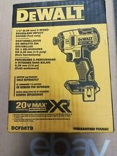 NEW!! DeWALT 1/4 3 Speed IMPACT DRIVER 20V   DCF887B  (Tool Only) Free Shipping!