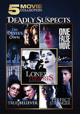 Deadly Suspects: 5 Movie Collection (DVD, 2016, 2-Disc Set)