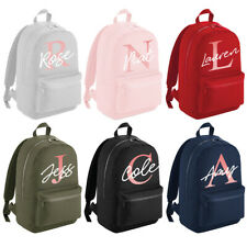 Personalised Mini Large Backpack Girls Rose Gold Kids School Bag Rucksack #MBP6