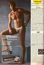 1980 Jockey Jim Palmer Baseball Baltimore Orioles Print Advertisement Ad 1980s