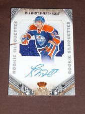 11-12 CROWN ROYALE Ryan Nugent-Hopkins ROOKIE SILHOUETTES AUTO 2CLR PATCH 42/99