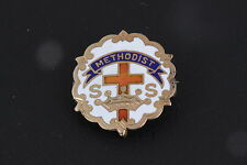 COSTUME 1950 METHODIST CROSS & CROWN SS PIN/ BROOCH FASHION 3160