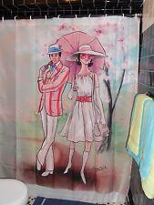 Matthew Simpson Mod Mary Poppins Shower Curtain