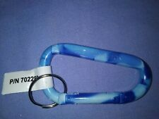 25 pcs New Hillman P/N 702280 Carabiner Blue Camouflage