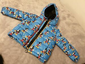 Mickey Mouse Hooded Puffer Jacket 9 To 12 Month