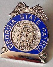 29f05a47e86d GA GEORGIA STATE PATROL MINI BADGE PIN - NEW POLICE LAPEL PIN - free  shipping