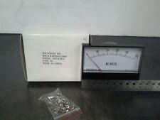 Panel Meter, 0 - 50 AC Volt Meter. 95 x 75mm