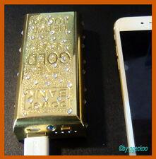 "Powerbank Goldbarren 5200 mAh ""ggeckoo"""