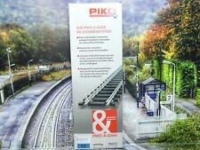 Piko 55212 - H0 - A-Gleis - 6 Stück gebogenes Gleis R2 - r=422mm - Neu/OVP-#8559