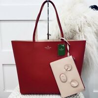 NWT Kate Spade Little Len Pig Tote Bag Year of the Pig Red Tote with wristlet