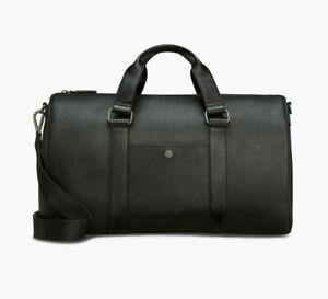 Calvin Klein Men's Relaxed Pebble Weekender Bag Black