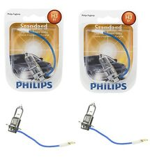 2x Philips H3 High Quality Vision 12336 Halogen Light Bulb Lamp Low High Beam