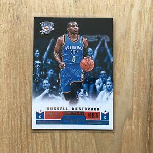 Russell Westbrook 2012-13 Prestige Stars of the NBA Thunder Basketball Card #1