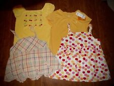 LOT of 5 GIRLS SZ 9/10 TOPS - GYMBOREE(ONE NWT) & HANNA ANDERSSON