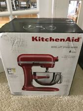 KitchenAid Kl26m1xer 6 Quart Bowl Lift Stand Mixer. New Sealed in Box. Free Ship