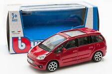Citroen C4 Picasso Red, Bburago 18-30222, scale 1:43, toy car model boy gift