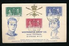 Royalty George VI (1936-1952) Caymanian Stamps