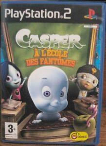 Casper À L'école Des Fantômes - JEU PS2 - NEUF - VF