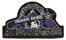 1998 ALL STAR GAME MLB BASEBALL COLORADO ROCKIES ALTERNATE BLACK JERSEY PATCH