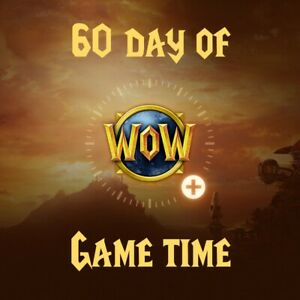 World of Warcraft 60-day Game Time (Classic or Retail) - Delivery in 3 days