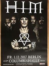 HIM - H I M   2017  BERLIN  - orig.Concert Poster -- Konzert Plakat  A1
