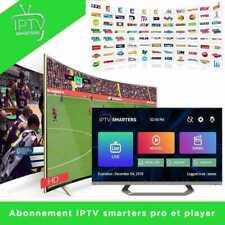 ✔️M3U✔️SMART TV✔️ANDROID ✔️MAG) OU 🔥 SMARTERS Pro IP*TV Abonnement 12 mois
