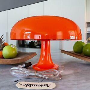 ARTEMIDE Nessino Table Lamp Orange by Giancarlo Mattioli