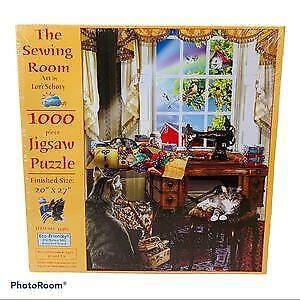 SunsOut Jigsaw Puzzle; The Sewing Room; art by Lori Schory, 1,000 pcs,  #634983