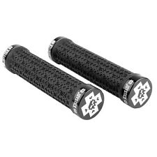 JOYSTICK MTB MOUNTAIN BIKE CICLO HANDLE BAR GRIPS Nero Lock On