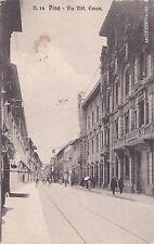 # PISA: VIA VITTORIO EMANUELE   1917