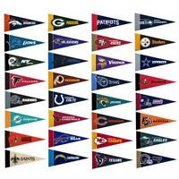 "NFL Team Mini 4""x9"" Pennants U-Pick (Read Description)"
