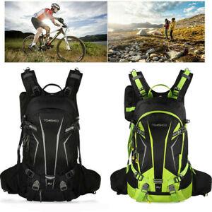 20L Wasserdicht Fahrrad Rucksack Multifunktionaler Wanderrucksack Camping Bag DE