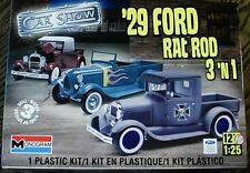 Revell Monogram 1929 Ford Model A Pickup Rat Rod 3 in 1 Model Kit 1/25