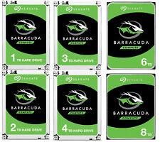 interne Festplatte Seagate BarraCuda 8.9cm 3,5 1TB 2TB 3TB 4TB 6TB 8 TB SATA3