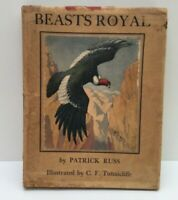 Beasts Royal By Patrick Russ 1934 Hardback Book