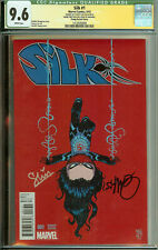 Silk #1 CGC 9.6 Signed Stacey Lee Skottie Young Variant