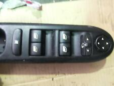 PEUGEOT 407 PWR DR WIND SWITCH RH FRONT (MASTER SWITCH),96468704XT