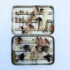 Vintage Perrine Fly Box Full Of Flys