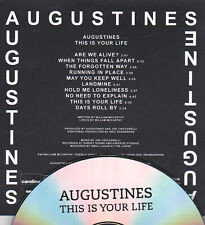 AUGUSTINES THIS IS YOUR LIFE RARE 10 TRACK PROMO CD
