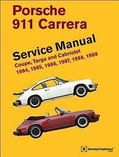 Porsche 911 Carrera Service Manual: 1984, 1985, 1986, 1987, 1988, 1989: By Be...